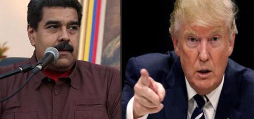 Nicolás Maduro / Donald Trump | Composición