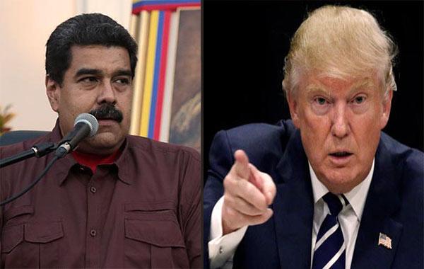 Nicolás Maduro / Donald Trump   Composición