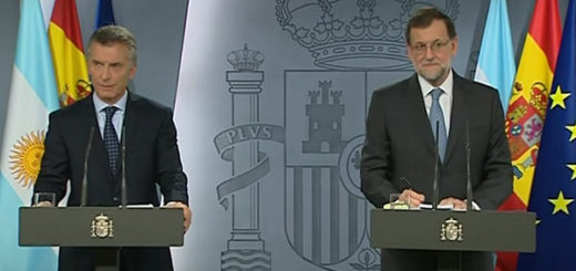 Mauricio Macri y Mariano Rajoy | Foto: captura de video