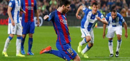 Messi salvó al equipo en el minuto 90 |Foto: Olé
