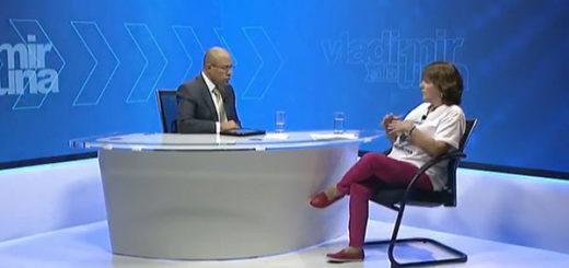 Mitzy Capriles de Ledezma en Vladimir a la 1 | Foto: Globovisión