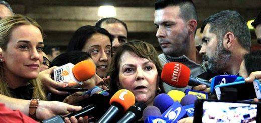 Mitzy de Ledezma: La Carta Democrática debe estar por aplicarse a Venezuela | Foto: La Patilla