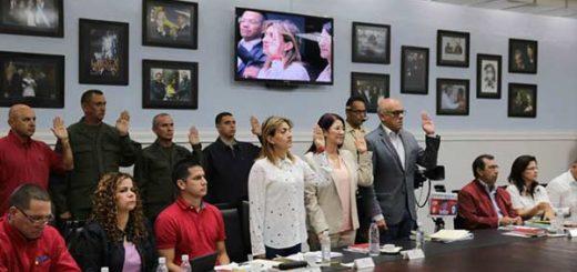 Maduro juramentó nuevo Estado Mayor de Gobierno para Caracas | @PresidencialVen