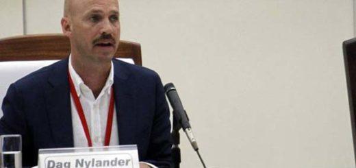 El noruego Dag Nylander es un diplomático que logró conseguir el acuerdo de paz en Colombia  Foto: BBC Mundo