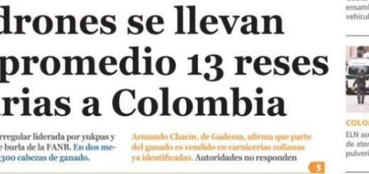 Portada de diario nacional |Foto: La Patilla