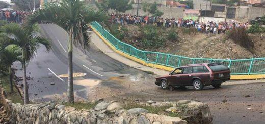 Nuevo puente Guanape II de Vargas estará listo en junio | Foto: Twitter