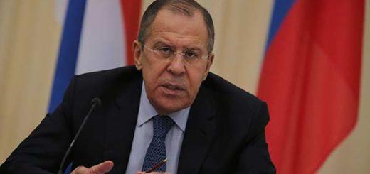 Canciller de Rusia, Serguéi Lavrov | Foto: Archivo
