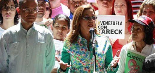 Tanía Díaz | Foto: @VTVCanal8