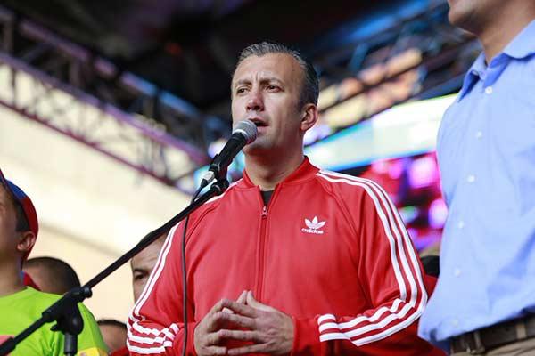 Tareck El Aissami, vicepresidente de la República |Foto: Vicepresidencia de Vzla