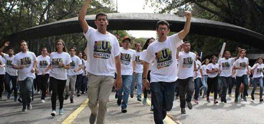 Estudiantes de la UCV exigen elecciones |Foto Twitter
