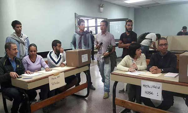 Gobierno estudiantil de la UCV inicia sus elecciones |Foto: Caraota Digital