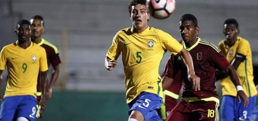 Venezuela tropezó ante Brasil en el Sudamericano Sub-17 | Foto: AFP