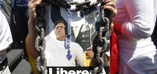 Líderes opositores exigen liberación de Leopoldo López |Foto: Reuters