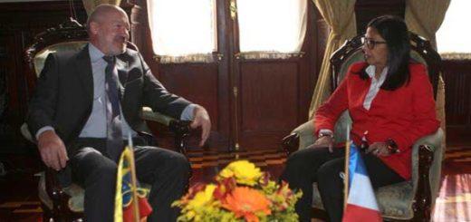 Venezuela y Francia revisan estado de las relaciones | Foto: @vencancilleria