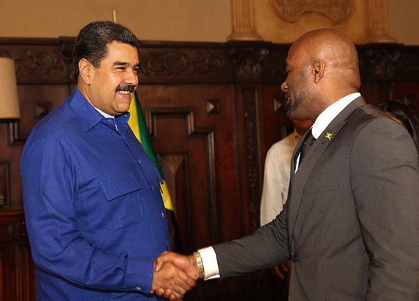 Venezuela y Jamaica firmaron acuerdos en materia energética | Foto: @VTVCanal8