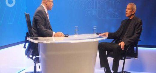 Vladimir Villegas entrevista al Gobernador de Anzoátegui |Foto: Globovisión