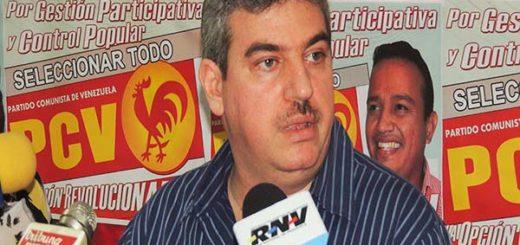 Yul Jabour, diputado de la AN y dirigente del PCV |Foto cortesía