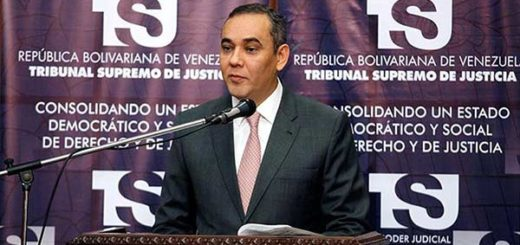 Maikel Moreno, magistrado del TSJ | Foto: ACN
