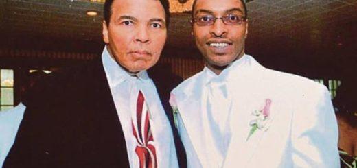 Muhammad Ali y su hijo | Foto: 365 News