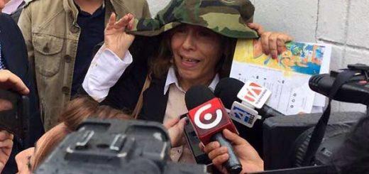 Ana Mercedes Díaz, ex presidenta del Tribunal Electoral de Venezuela | Foto: @brisipin