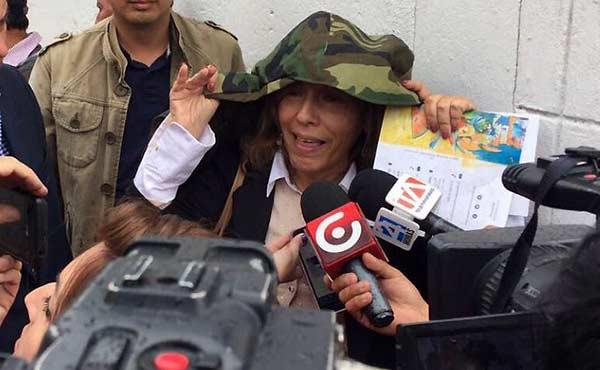 Ana Mercedes Díaz, ex presidenta del Tribunal Electoral de Venezuela en Ecuador | Foto: @brisipin