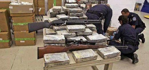 Armas enviadas a Miami | Foto: Agencias
