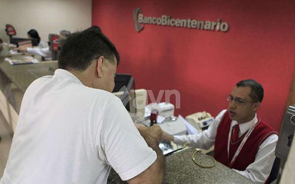 Banco Bicentenario | Foto referencial / AVN