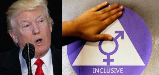 Donald Trump anuló norma que permitía a transgéneros elegir baño en las escuelas de EEUU | Foto: AP