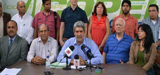 Junta directiva de Copei Carabobo | Foto: El Cooperante