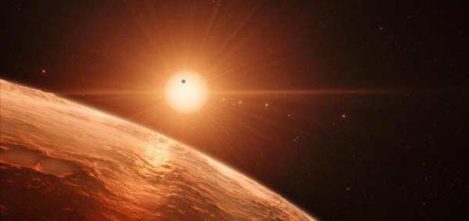 NASA descubrió un sistema solar con siete planetas como la Tierra | Foto: European Southern Observatory