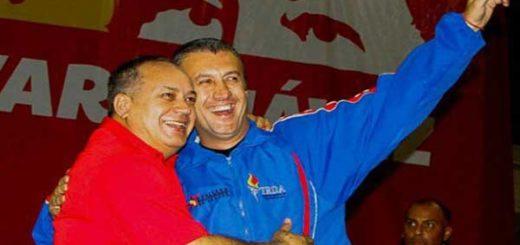 Diosdado Cabello y Tareck El Aissami | Foto: Archivo