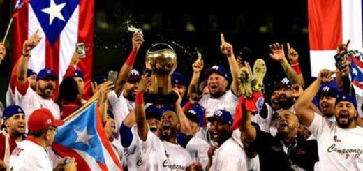 Puerto Rico se corona campeón de la Serie del Caribe | Foto: AFP