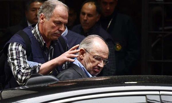 Ex director de FMI es condenado a 4 años de prisión   Foto: AFP