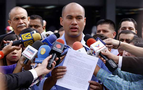 Héctor Rodríguez, constituyente  Foto archivo