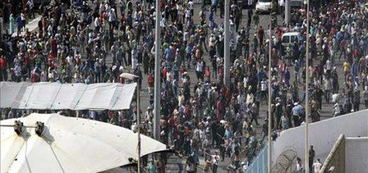 Cientos de inmigrantes entraron en España tras saltar valla fronteriza con Marruecos | Foto: eldiario.es