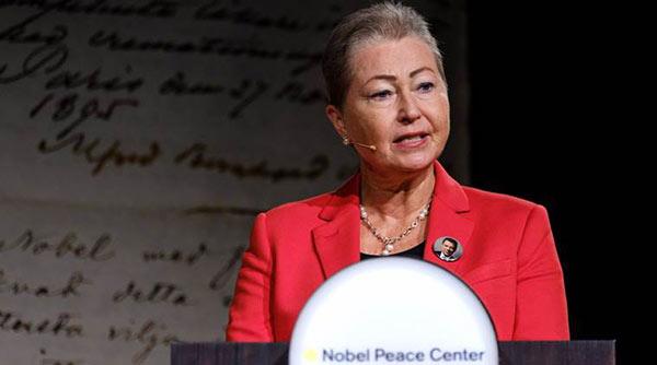 Muere la presidenta del Comité Nobel de la paz, Kaci Kullmann Five | Foto: Agencias