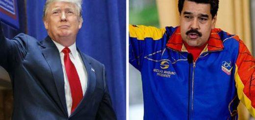 Donald Trump, Nicolás Maduro /Composición: Notitotal