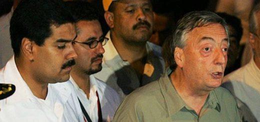 Nicolás Maduro y Néstor Kirchner | Foto: Agencias