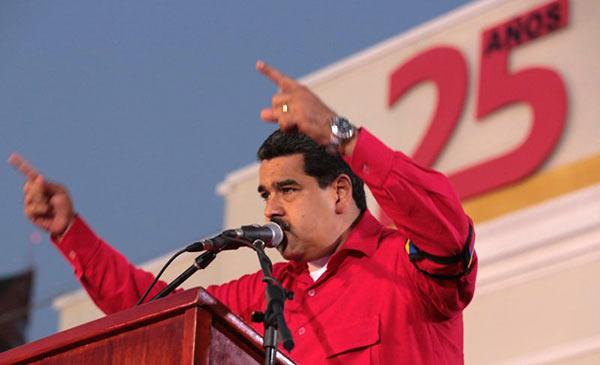 Maduro apunta a su reelección sin la oposición en presidenciales | Foto: EFE