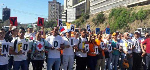 Marcha en apoyo a Leopoldo López | Foto: Luis Pérez / Caraota Digital