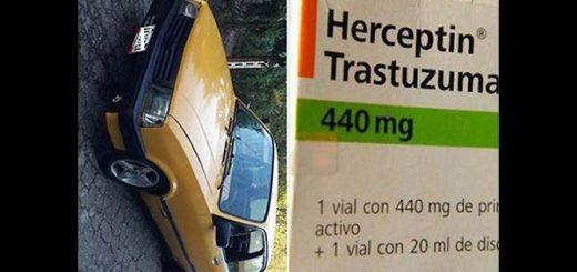 Medicinas por un carro | Captura