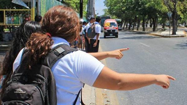 Transportistas ya no trasladarán gratuitamente a estudiantes | Foto referencial