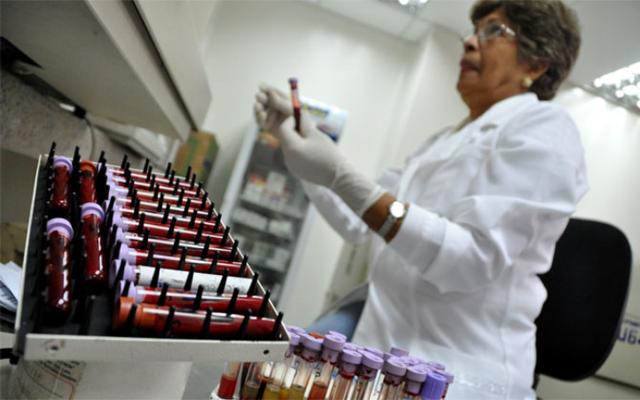 Escasez de reactivos alcanzó 97% al cierre de enero | Foto referencial