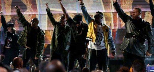 Tribe Called Quest y Anderson Paak en los Grammy. | Foto: Reuters