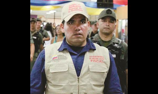 Ricardo Baptista Jovito, coordinador de la Sundde en Carabobo   Foto: Notitarde