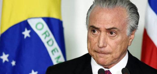 Michel Temer, Presidente de Brasil | Foto: Cortesía