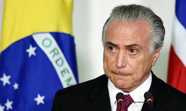 Corte electoral inicia juicio que puede invalidar presidencia de Temer en Brasil | Foto: Archivo