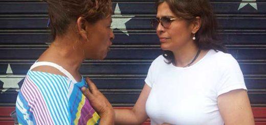 Enfermera da su testimonio | Foto: @MariaGMonagas