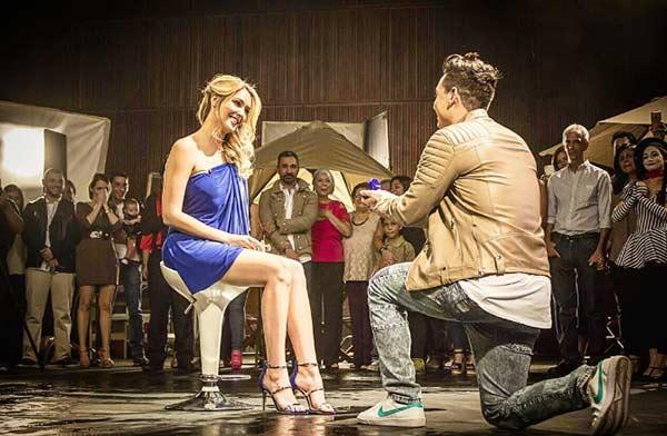 Víctor Drija le propuso matrimonio a su novia Blanca Aljibes | Foto: Instagram