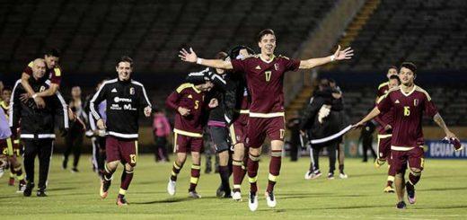 Vinotinto Sub-20 vence a Uruguay | Foto: EFE